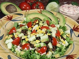 confetti salad southwestern chopped salad southwest chicken salad with ...